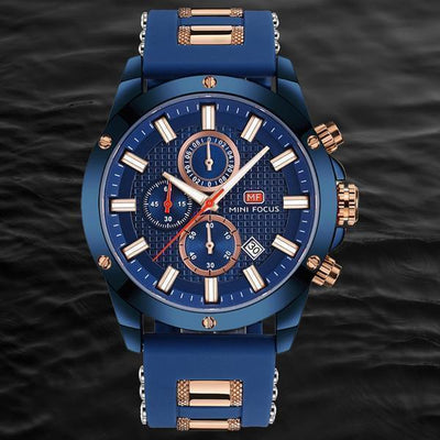 FOCUS-X Chrono RU0122G | 46mm