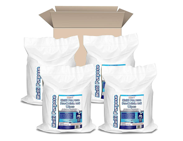 Germisept Multipurpose Gym Wipes & Wellness Center Cleaning Wipes/Cart Wipes (4 Rolls)