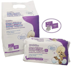 Cooshkins Precious Moments 99% Aqua Pure Sensitive Water Baby Wipes