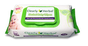 Clearly Herbal Gentle Baby Wipes