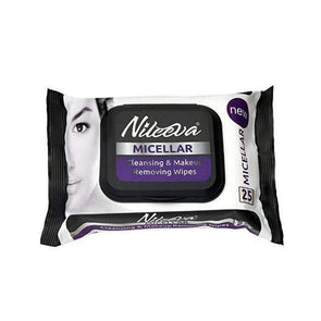 Nileeva Visage Collection Micellar Makeup Remover Cleansing Cloths & Wipes