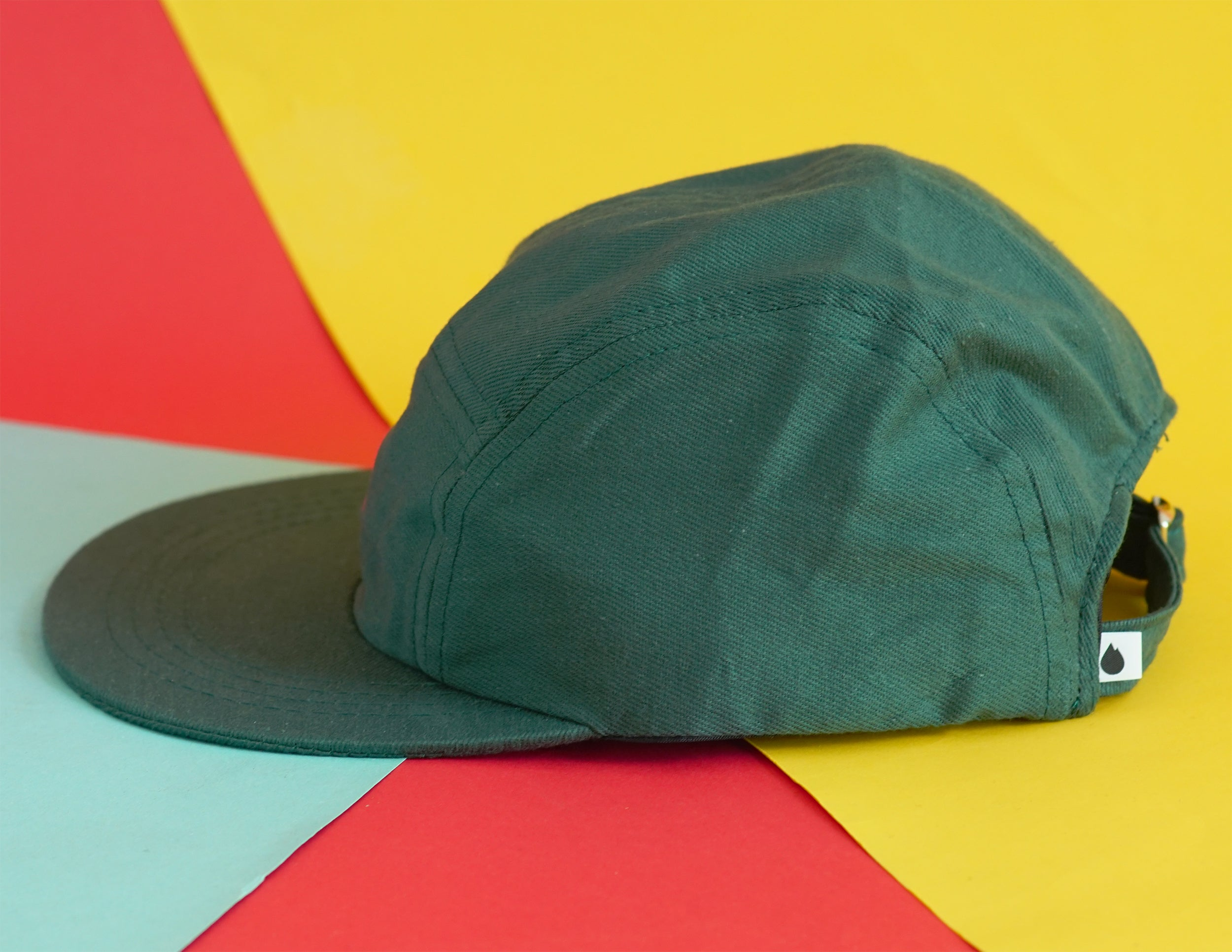 "Gorra 5 Panel ""Box Logo"" verde"