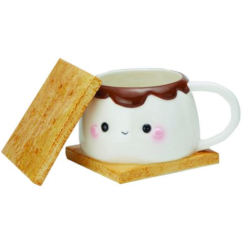 TAZA MARSHMALLOW S'MORE