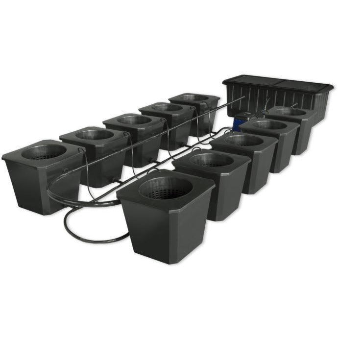 BubbleFlow Bucket 10 Site Hydroponic System - Hydroponics Greenhouse