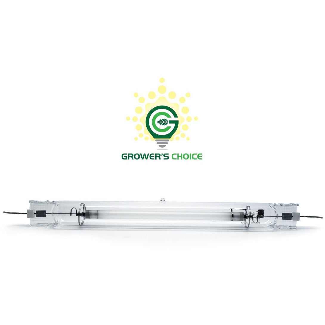 Grower's Choice Double Ended 1000W HPS Grow Light Bulb, 2,000K - Hydroponics Greenhouse