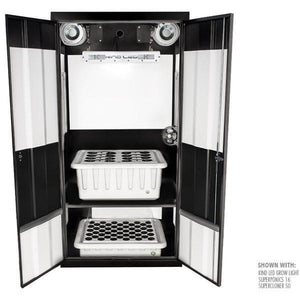 Deluxe LED Smart Grow Cabinet - Hydroponics Greenhouse