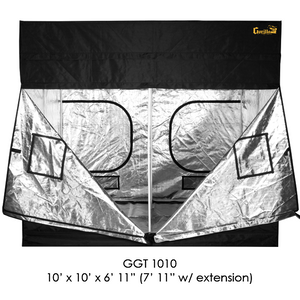 Gorilla Grow Tent 10' x 10' Heavy Duty Indoor Grow Tent - Hydroponics Greenhouse