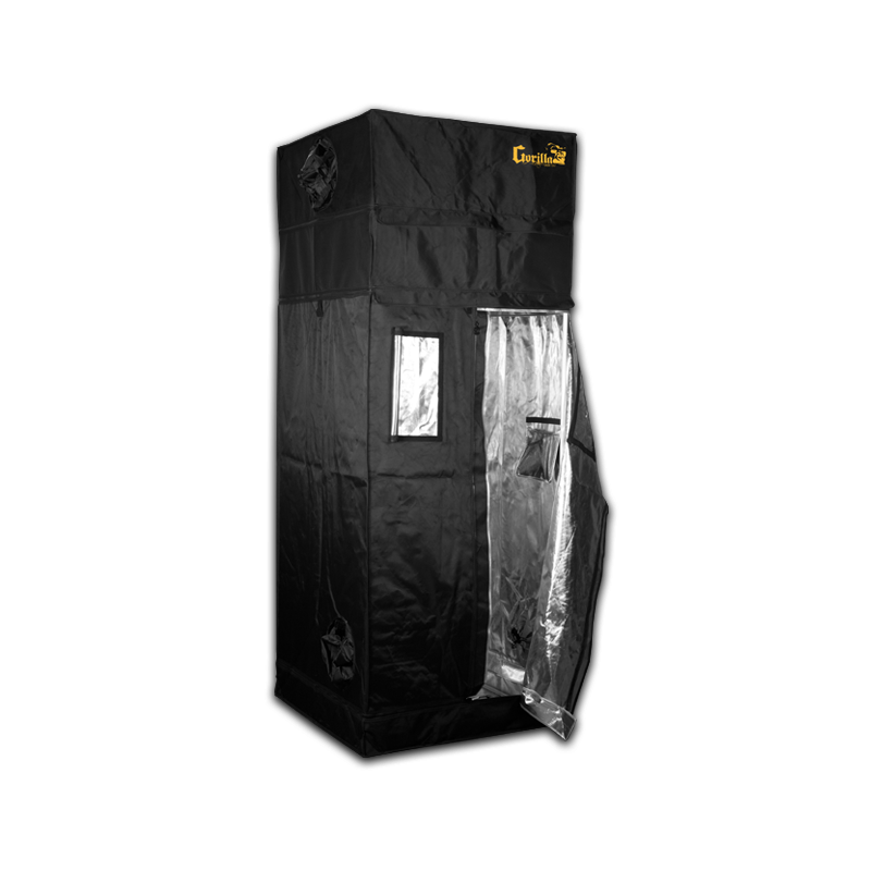 Gorilla Grow Tent 3' x 3' Heavy Duty Indoor Grow Tent - Hydroponics Greenhouse