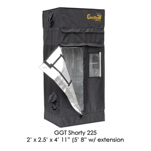Gorilla Grow Tent Shorty 2' x 2.5' Indoor Grow Tent - Hydroponics Greenhouse