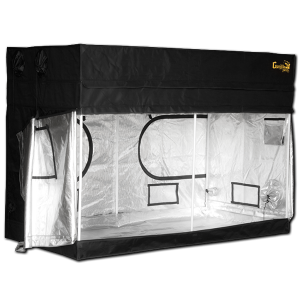Gorilla Grow Tent Shorty 4' x 8' Indoor Grow Tent - Hydroponics Greenhouse