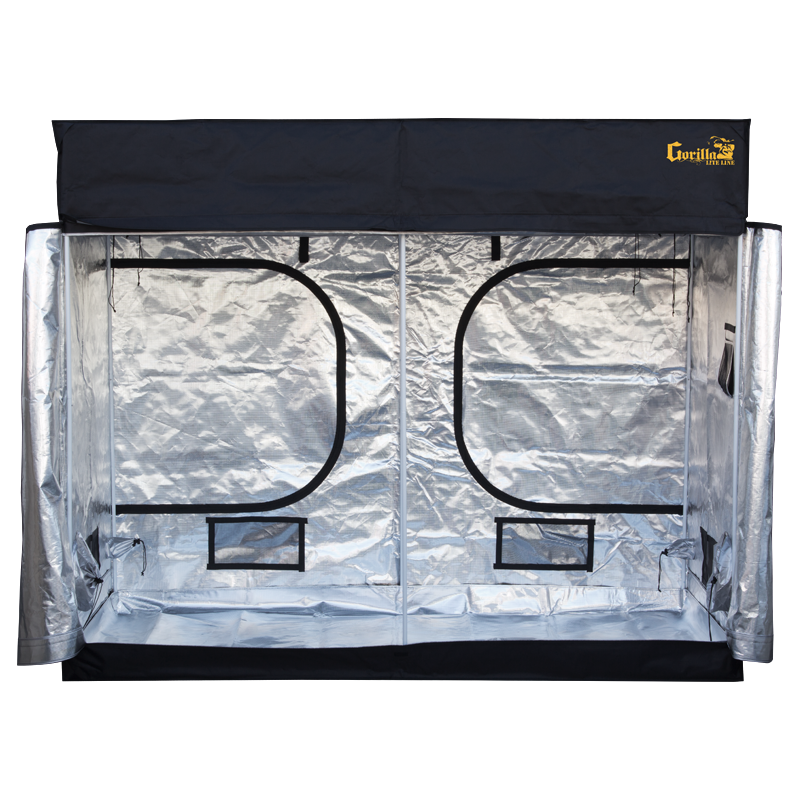 Gorilla Grow Tent LITE LINE 4' x 8' Indoor Grow Tent - Hydroponics Greenhouse