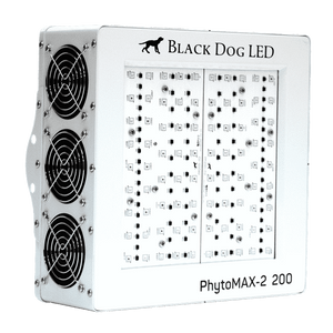 Black Dog LED PhytoMAX-2 200 LED Grow Light - Hydroponics Greenhouse