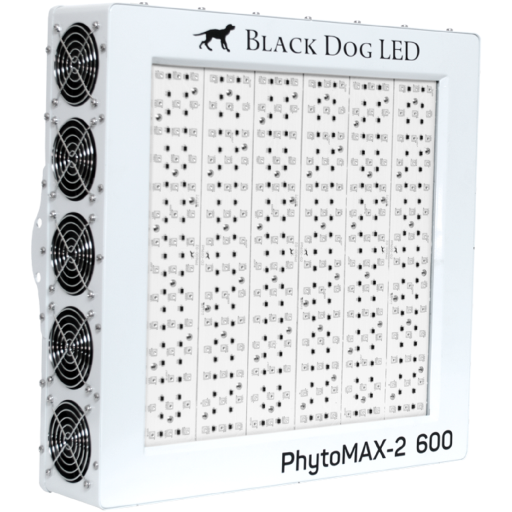 Black Dog LED PhytoMAX-2 600 LED Grow Light - Hydroponics Greenhouse