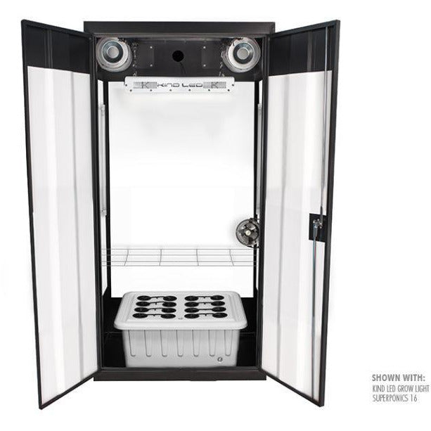 SuperFlower LED Smart Grow Cabinet - Hydroponics Greenhouse