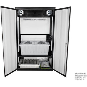 SuperNova LED Smart Grow Cabinet - Hydroponics Greenhouse