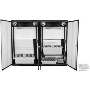 SuperTrinity LED Smart Grow Cabinet - Hydroponics Greenhouse