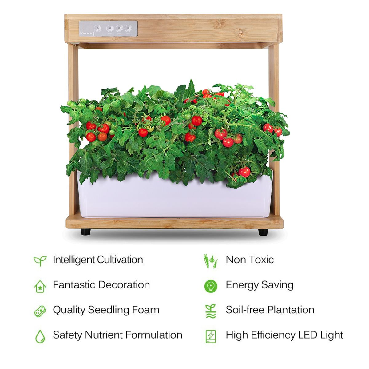 8 Bay Signature Hydroponic System