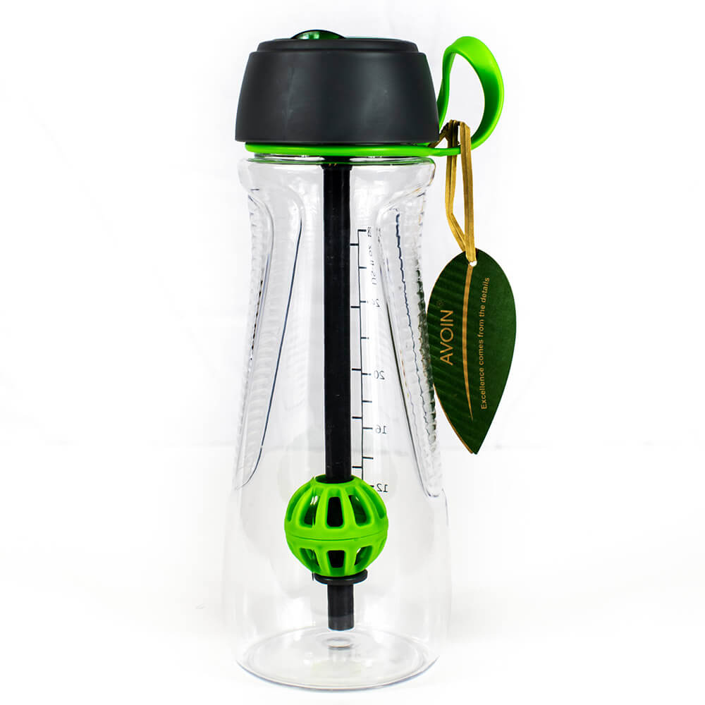 Active Agitator Ball Water Bottle - Blossom Bottles
