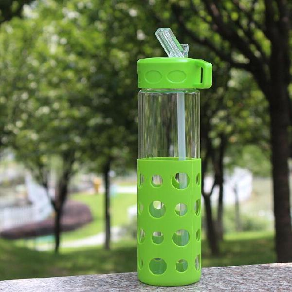Waterdrop Sleeve Glass Bottle - Blossom Bottles