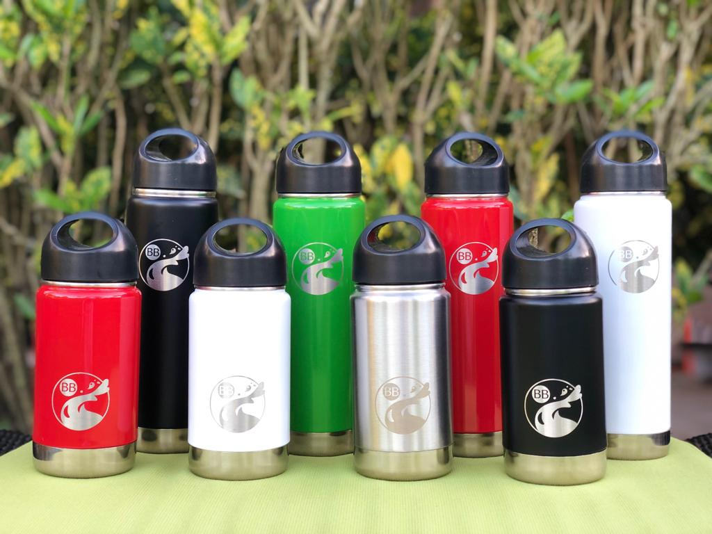 Cherry Blossom Wide-Mouth Stainless Steel Thermal Bottle - Blossom Bottles