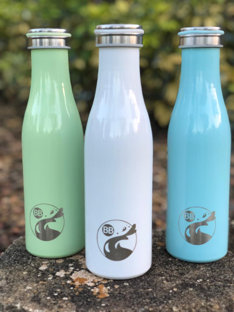 Pastel Thin Stainless Flask - Blossom Bottles