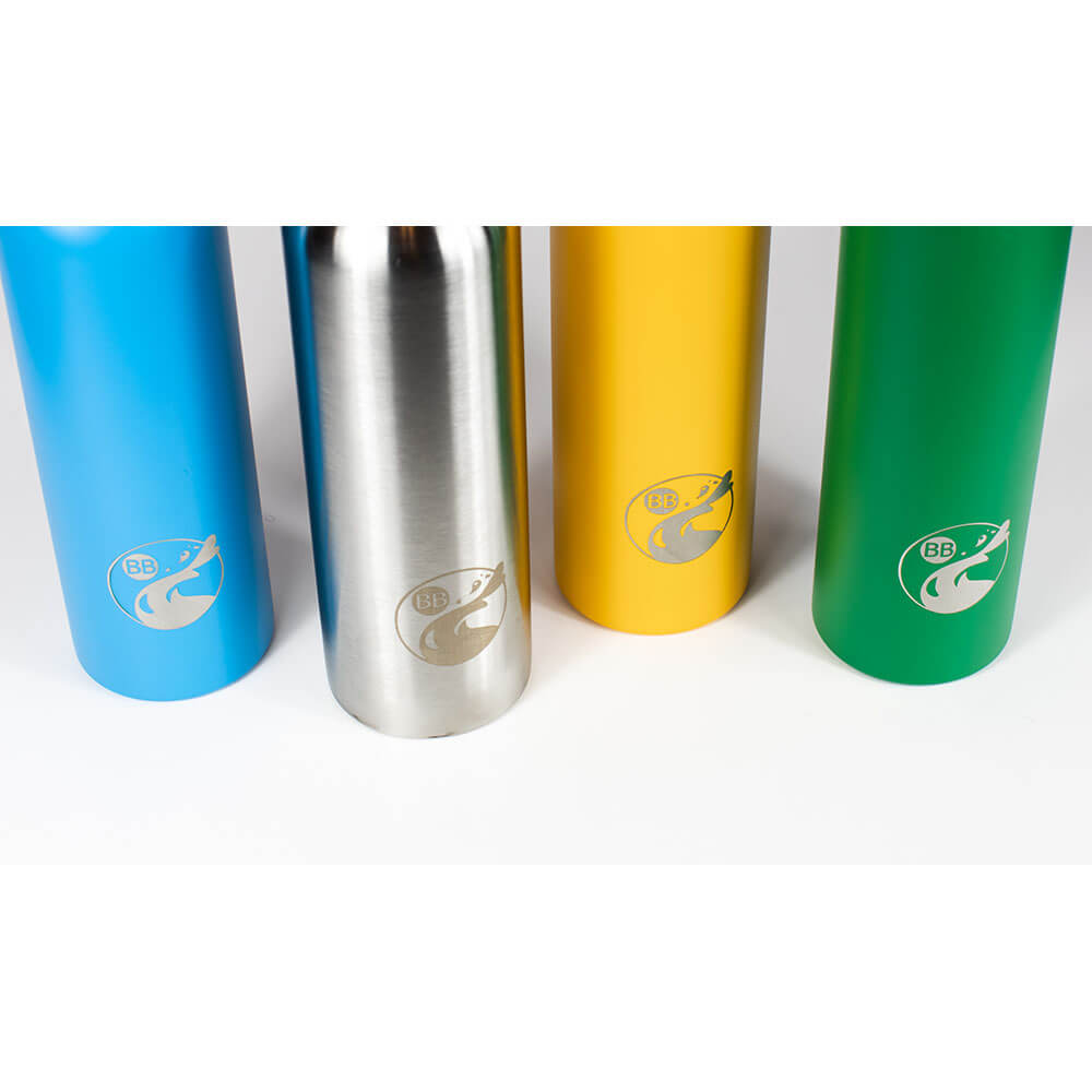 Solid Color Blossom Stainless Steel Outdoor Water Flask - Blossom Bottles