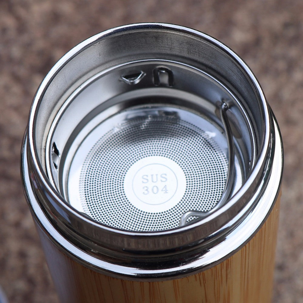 Live In Nature Bamboo Stainless Steel Mug - Blossom Bottles