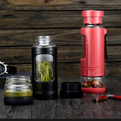 Multi-Function Glass Tea Infuser - Blossom Bottles