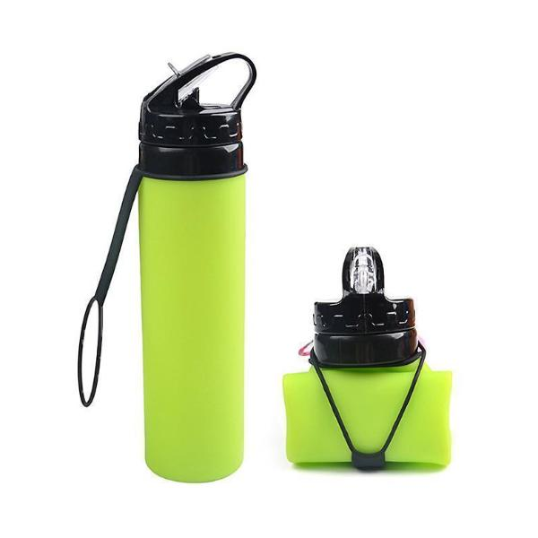 Colorful Collapsible Silicone Folding Bottle - Blossom Bottles