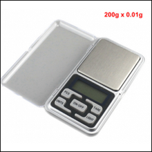 200g x 0.01g Digital Jewelry Scale Pocket Scale Electronic Weighing Scale Mini Libra High Accuracy Weigh Balance Maître Keto