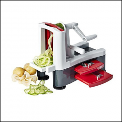 Hot Sale Top Rated handy Spiral-ultra 4-blade Spiralizer,Spiral Vegetable Slicer Maître Keto