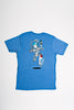 Robo Drunk Blue T-Shirt