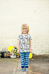 Zukie Man all over Print T Kids