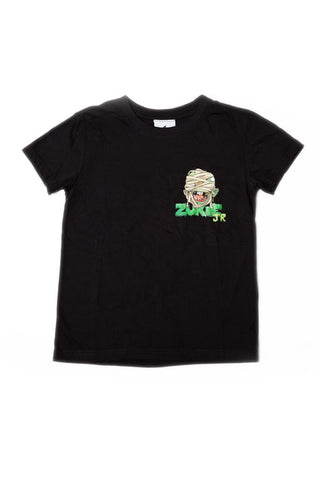 ZUKIE JR Mummy Skate T Black