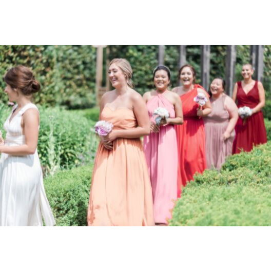 Bridesmaid Dresses - Classic Bundle- Pinks and Reds - BridesMade