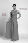 Bridesmaid Dresses - Jewel Floor Length Sample Dress - BridesMade