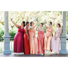 Bridesmaid Dresses - Infinity Bundle- Pinks and Reds - BridesMade