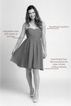 Bridesmaid Dresses - Sweetheart Knee Length Sample Dress - BridesMade