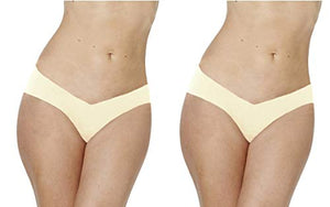 Alessandra B 2 Pack Camel Toe Cover Thong - M7711-2