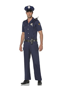 Mystery House Police Officer Costume - M1635
