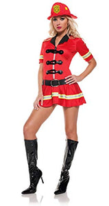 Mystery House Fire Fighter costume - M1147