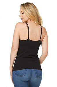 Alessandra B Cotton Classic Camisole with Wire-Free Molded Cups -M8811