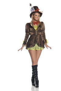 Mystery House Mad Hatter Costume Plus Size - M1172W