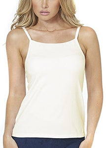 Alessandra B Underwire Smooth Seamless Cup High Neck Camisole - M7736