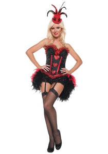 Mystery House Showgirl Costume - M1121