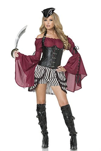 Mystery House Seven Seas Pirate Costume - M1624