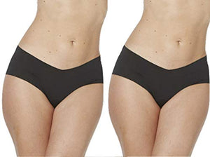 Alessandra B 2 Pack Camel Toe Cover Brief - M7712-2