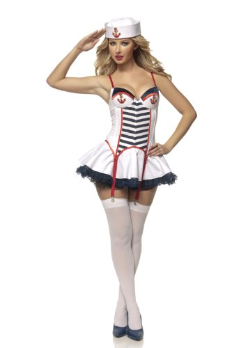 Mystery House Anchors Away Costume - M1368