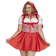 Load image into Gallery viewer, Mystery House Red Riding Hood Costume Plus Size -M1476W
