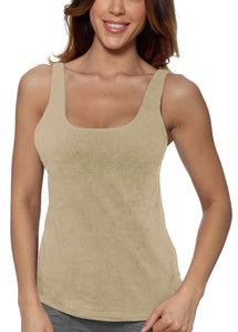 Alessandra B Underwire Bra Cotton Sports Tank Top- Style M3021 - MORE Colors
